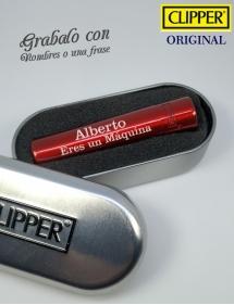 Clipper personalizado rojo
