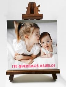 Azulejo Personalizado Imagen + Caballete