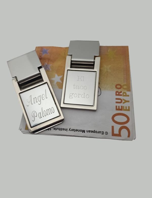 Pinza para billetes personalizada