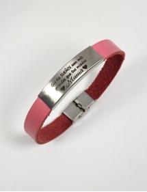 pulsera acero personalizada