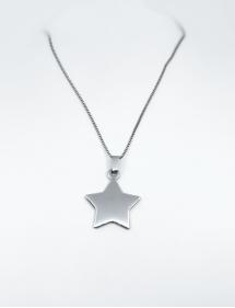 colgante grabado estrella
