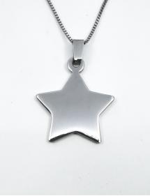 colgante estrella personalizada