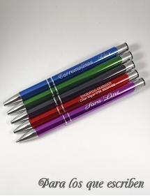 Bolígrafos personalizados Láser