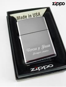 Personalizar Zippo.