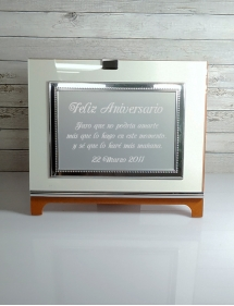 grabado placa de homenaje.
