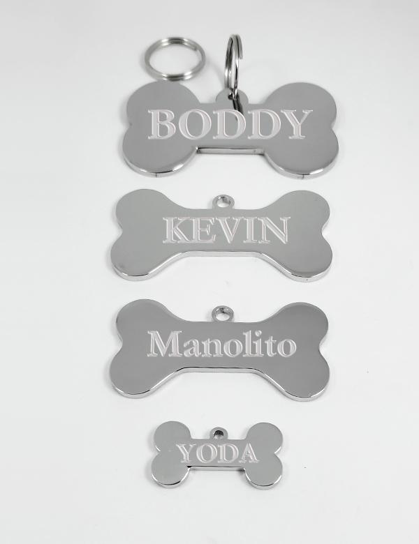 huesos perros personalizados