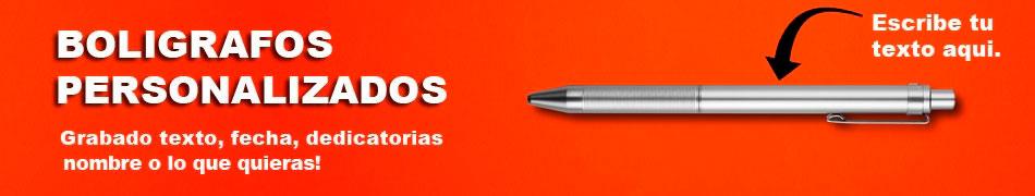 Bolígrafos Personalizados Grabados