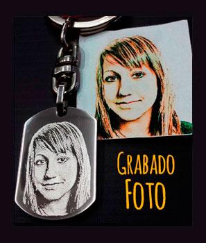 Fotograbado personalizado, con foto.